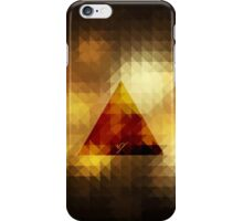 Retro Triangle brown iPhone Case/Skin