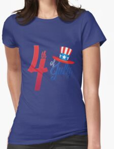 4th of July T-Shirt _ Independence Day 2016 Tee Womens Fitted T-Shirt