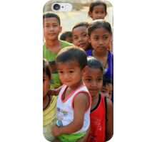 Village Children iPhone Case/Skin