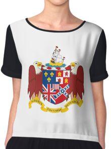 Coat of Arms of Alabama  Chiffon Top