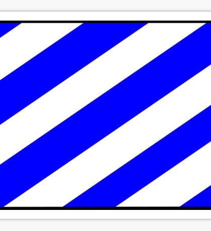 Number 6 Flag Sticker