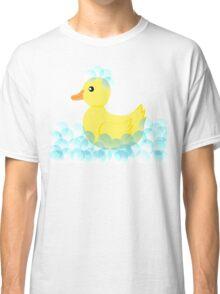 Rubber Ducky Bubbles Classic T-Shirt