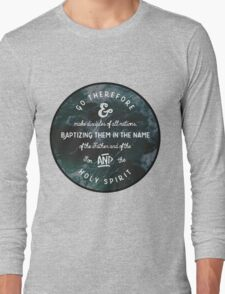 Christian Quote Long Sleeve T-Shirt