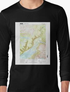 USGS TOPO Map Alaska AK Seldovia D-3 358842 1951 63360 Long Sleeve T-Shirt