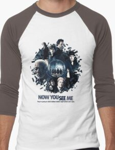 Now See Me The Movies Men's Baseball ¾ T-Shirt