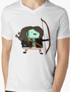 BMO Katniss  Mens V-Neck T-Shirt