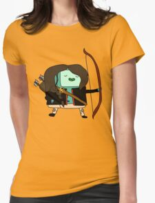 BMO Katniss  Womens Fitted T-Shirt