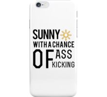 How's the weather in your world? iPhone Case/Skin