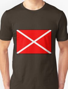Number 4 Flag Unisex T-Shirt