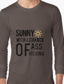 How's the weather in your world? Long Sleeve T-Shirt
