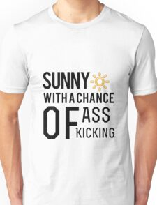 How's the weather in your world? Unisex T-Shirt