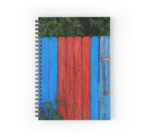 Painted Fence Spiral Notebook