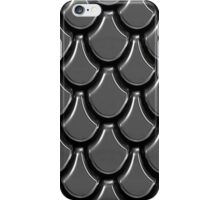 Silver scales iPhone Case/Skin