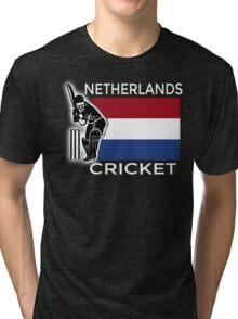 Netherlands Cricket Tri-blend T-Shirt