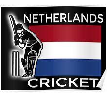 Netherlands Cricket Poster