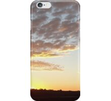 Sunset in the Barossa iPhone Case/Skin