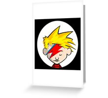 Calvin Stardust Greeting Card