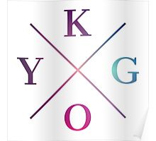 Kygo - Blue Violet Color Poster