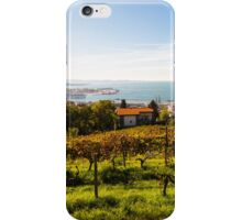 The gulf of trieste in a sunny day iPhone Case/Skin
