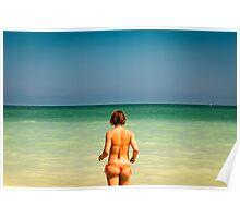girl at the sea Poster