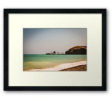 italian seaside in a summer day Framed Print