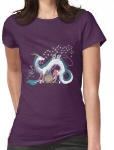 Spirit me away Womens Fitted T-Shirt