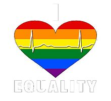 I Heart Equality - Pulse Edition Photographic Print