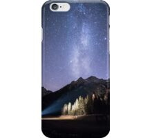 milky way in val Fiscalina iPhone Case/Skin