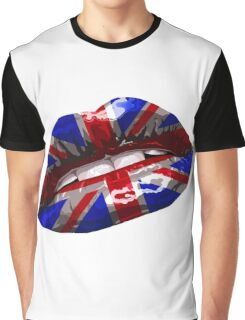 Union Jack Graphic Design Graphic T-Shirt