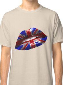 Union Jack Graphic Design Classic T-Shirt