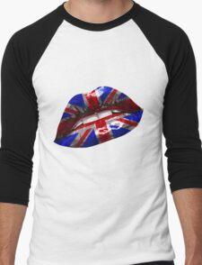 Union Jack Graphic Design Men's Baseball ¾ T-Shirt