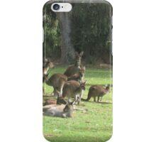 Group of Kangaroos iPhone Case/Skin