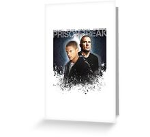Prison Break - For Freedom Greeting Card