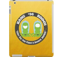 Vote Kang - Kodos '96 iPad Case/Skin