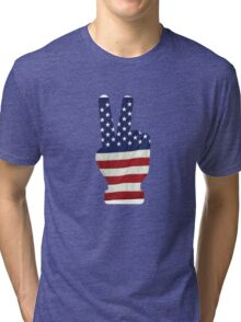 American Flag 4th of July T-Shirt Independence Day 2016  Tri-blend T-Shirt