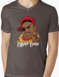 Slick Mens V-Neck T-Shirt