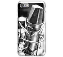 Microphone Distortion iPhone Case/Skin