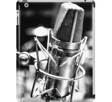 Microphone Distortion iPad Case/Skin