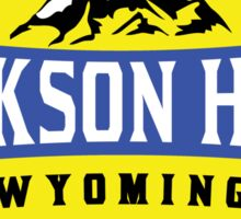 JACKSON HOLE WYOMING Mountain Skiing Ski Snowboard Snowboarding 2 Sticker