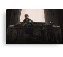 Farewell, King Under the Mountain Canvas Print