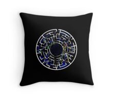 Ink All Creation Throw Pillow