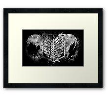 Survey Corps Framed Print