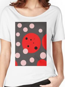 Fun abstract design by Moma Women's Relaxed Fit T-Shirt