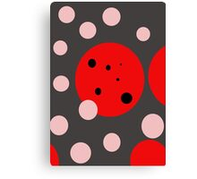 Fun abstract design by Moma Canvas Print