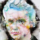 MARIE CURIE - watercolor portrait by lautir