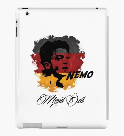 Germany Mesut Ozil Football World Cup 2014 iPad Case/Skin