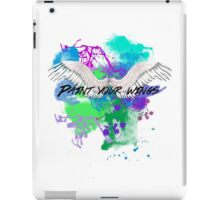 Paint Your Wings iPad Case/Skin