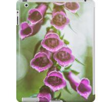 Summer Fox's in Flower. iPad Case/Skin