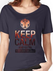 Keep Calm and go to Tomorrowland - Crowd Women's Relaxed Fit T-Shirt