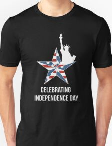 Celebrating Independence Day 4th of July T-Shirt Independence Day 2016 Tee Unisex T-Shirt